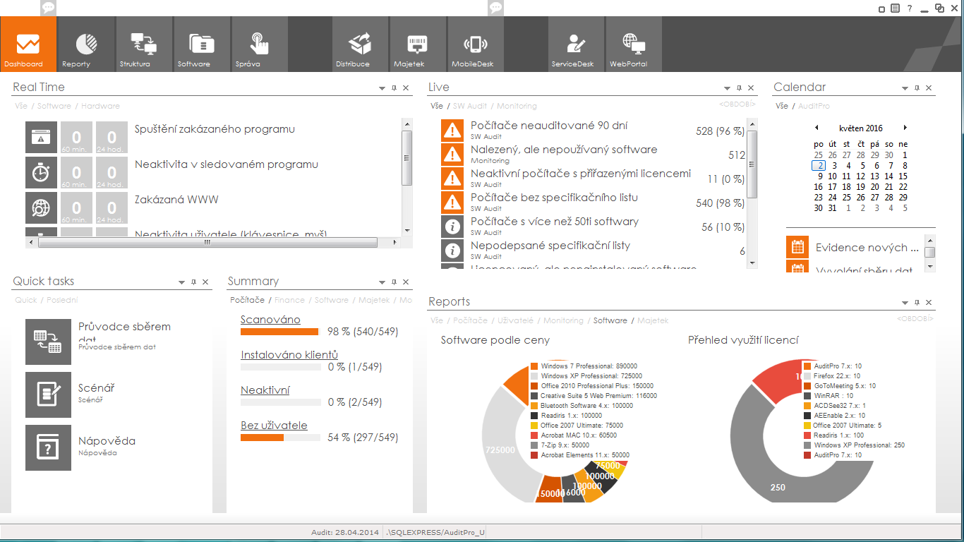 AuditPro Dashboard