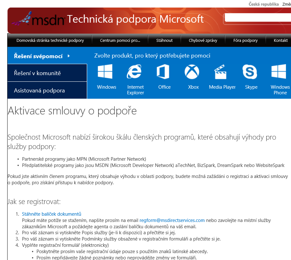 microsoft professional support