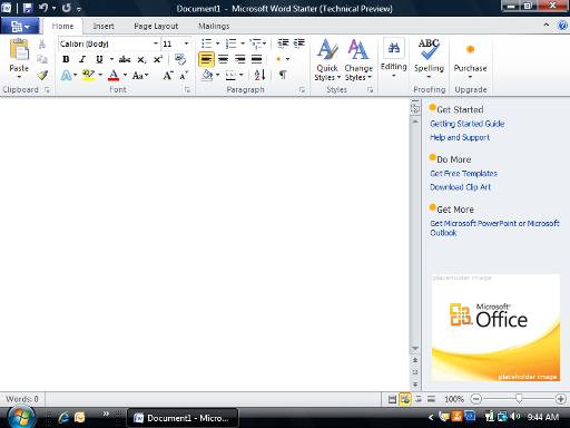 microsoft word starter 2010 free download for windows vista