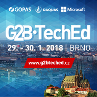 Konference G2B TechEd Brno 2018